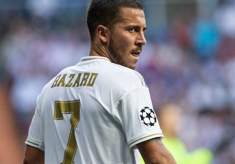 اِزار از ترکیب رئال مادرید کنار گذاشته شد